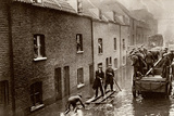 Flooded London Streets 1928 Photographic Print