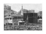 Saudi Arabia, Mecca Premium Giclee Print