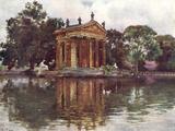 Borghese Villa Gardens Photographic Print by Alberto Pisa