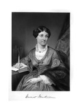 Harriet Martineau Giclee Print by Alonzo Chappel