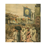 Chinese Civil War Giclee Print by Alfredo Ortelli