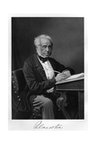 Palmerston Writing Giclee Print by Alonzo Chappel