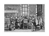 Social, Belgium, 17C Giclee Print by Abraham Bosse