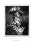 Duchesse Montpensier Giclee Print by Alfred Johannot