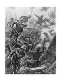 WWI, Heroic Act, Downie Giclee Print by Alfred Pearse