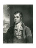 Robert Burns Premium Giclee Print by Alexander Nasmyth