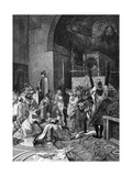 Heinrich V at Rome Giclee Print by Alphonse Mucha
