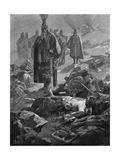 Rudolf Defeats Otakar Giclee Print by Alphonse Mucha
