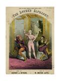 Nellie Farren, Alphabet Giclee Print by Alfred Concanen