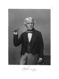 Michael Faraday Premium Giclee Print by Alonzo Chappel