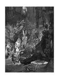 Arminius Defeats Romans Premium Giclee Print by Alphonse Mucha