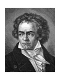 Beethoven Giclee Print by A Close