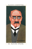 Rudyard Kipling - English Novelist Giclee Print by Alick P.f. Ritchie