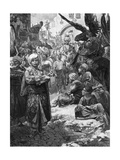 Friedrich in Jerusalem Giclee Print by Alphonse Mucha