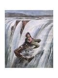 Niagara Falls, Rum Runner Giclee Print by Aldo Molinari