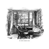 Joseph Hooker's Study Giclee Print by Alfred Parsons
