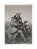 Daniel Boone Premium Giclee Print by Alonzo Chappel