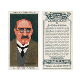 Rudyard Kipling - English Novelist Giclee Print by Alick PF Ritchie