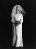 Wedding Dress 1960s Photographic Print