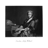 Georgiana Lady Holland Giclee Print by Allan Ramsay