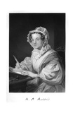 Mary Russell Mitford Giclee Print by Alonzo Chappel
