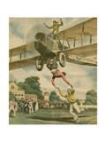 Aerial Acrobatics Giclee Print by Alfredo Ortelli