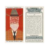 George Bernard Shaw - Irish Playwright Giclee Print by Alick PF Ritchie