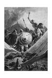 Roncevaux Giclee Print by A de Neuville