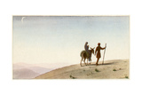 Flight to Egypt Giclee Print by AE Marty