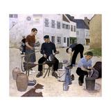 L'Etameur (The Tin Maker) Giclee Print by Alethea Garstin