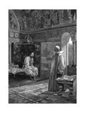 Conrad III Persuaded Giclee Print by Alphonse Mucha