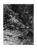 Adalbert Murdered Giclee Print by Alphonse Mucha