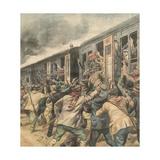 Yugoslav, Bandits, 1923 Giclee Print by Alfredo Ortelli