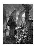 St Elisabeth Flagellated Giclee Print by Alphonse Mucha