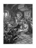 Wartburg Contest Giclee Print by Alphonse Mucha