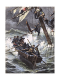 Helene Marcelle Wrecked Giclee Print by Achille Beltrame