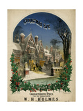 Christmas Eve Visiting Premium Giclee Print by Alfred Concanen