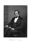 Washington Irving Giclee Print by Alonzo Chappel