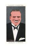 Douglas Fairbanks - American Actor, Director and Producer Giclee Print by Alick P.f. Ritchie