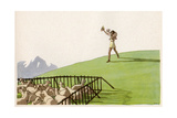 The Good Shepherd Giclee Print by AE Marty