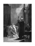 St Gall Exorcises Giclee Print by Alphonse Mucha
