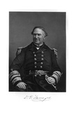David Farragut Giclee Print by Alonzo Chappel