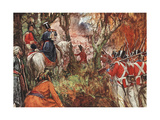 British Invade Burma Giclee Print by A.d. Mccormick