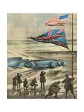 Malcolm Campbell 1931 Premium Giclee Print by Aldo Molinari
