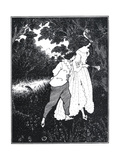 The Three Musicians Giclee Print by Aubrey Beardsley