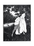 The Three Musicians Premium Giclee Print by Aubrey Beardsley
