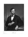 Abraham Lincoln Giclee Print by Alonzo Chappel