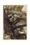 Midsummer Nights Dream Giclee Print by Arthur Rackham