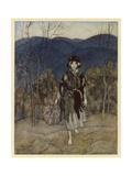 Catskin Giclee Print by Arthur Rackham