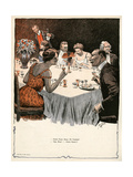 Drinking Health Giclee Print by Axel Thiess